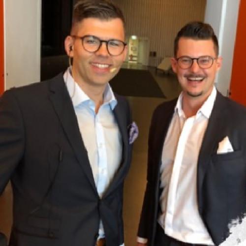 Michael Lamm und Daniel Krespach